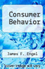 cover of Consumer Behavior (4th edition)