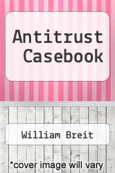 Cover of Antitrust Casebook 2 (ISBN 978-0030601477)