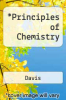 cover of Principles of Chemistry