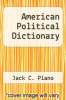 cover of American Political Dictionary (6th edition)