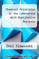 Cover of Chemical Principles in the Laboratory With Qualitative Analysis 83 (ISBN 978-0030626494)