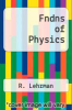 cover of Fndns of Physics