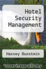cover of Hotel Security Management (2nd edition)