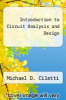 cover of Introduction to Circuit Analysis and Design