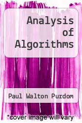 Cover of Analysis of Algorithms EDITIONDESC (ISBN 978-0030720444)