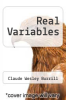 cover of Real Variables