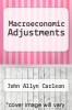 cover of Macroeconomic Adjustments
