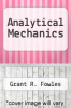 cover of Analytical Mechanics (2nd edition)