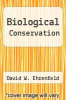 cover of Biological Conservation