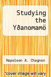 Cover of Studying the Y�anomam� EDITIONDESC (ISBN 978-0030812446)