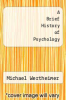 cover of A Brief History of Psychology