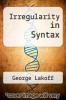 cover of Irregularity in Syntax
