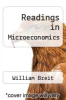 cover of Readings in Microeconomics (2nd edition)