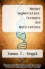 cover of Market Segmentation: Concepts and Applications