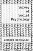 cover of Survey of Social Psychology