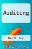 cover of Auditing (3rd edition)