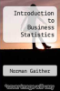 cover of Introduction to Business Statistics (6th edition)