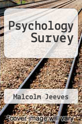 Cover of Psychology Survey EDITIONDESC (ISBN 978-0041500745)