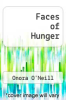 cover of Faces of Hunger