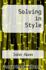 cover of Solving in Style