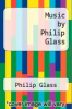 cover of Music by Philip Glass