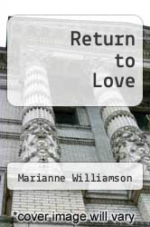 Cover of Return to Love EDITIONDESC (ISBN 978-0060163747)