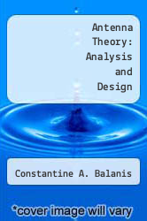 Cover of Antenna Theory: Analysis and Design EDITIONDESC (ISBN 978-0060404581)