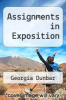 cover of Assignments in Exposition (10th edition)