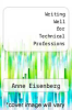 cover of Writing Well for Technical Professions