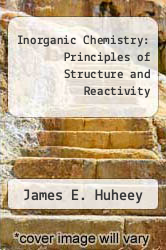 Cover of Inorganic Chemistry: Principles of Structure and Reactivity EDITIONDESC (ISBN 978-0060429843)