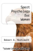 cover of Sport Psychology for Women