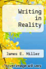 cover of Writing in Reality