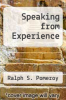 cover of Speaking from Experience