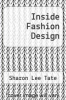 cover of Inside Fashion Design (2nd edition)
