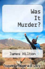cover of Was It Murder?