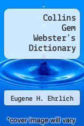 Cover of Collins Gem Webster