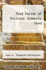 cover of Food Values of Portions Commonly Used (13th edition)