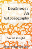cover of Deafness: An Autobiography (1st edition)