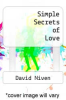 cover of Simple Secrets of Love