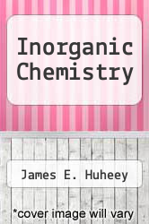 Cover of Inorganic Chemistry EDITIONDESC (ISBN 978-0063180451)