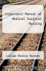 cover of Lippincott Manual of Medical Surgical Nursing (2nd edition)