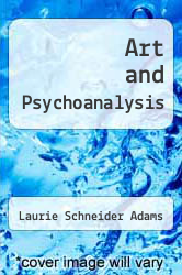 Cover of Art and Psychoanalysis EDITIONDESC (ISBN 978-0064302975)