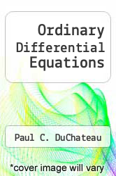 Ordinary Differential Equations by Paul C. DuChateau - ISBN 9780064671330