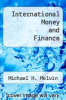 cover of International Money and Finance (3rd edition)