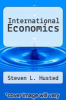 cover of International Economics (2nd edition)