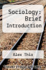 cover of Sociology: Brief Introduction (2nd edition)