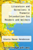cover of Literature and Ourselves: A Thematic Introduction for Readers and Writers