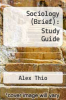 cover of Sociology (Brief): Study Guide (2nd edition)