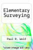cover of Elementary Surveying (9th edition)