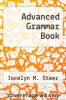 cover of Advanced Grammar Book